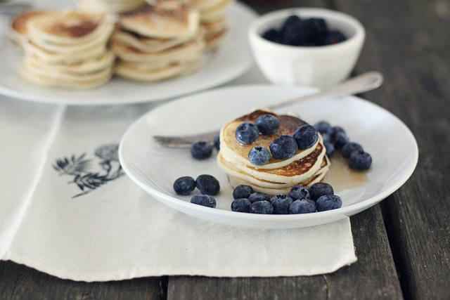Pancake, Blueberry