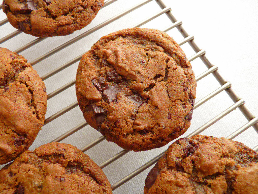 Ginger Chocolate Cookies (by pastrystudio)