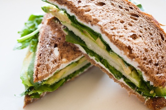 Sandwich, Avocado