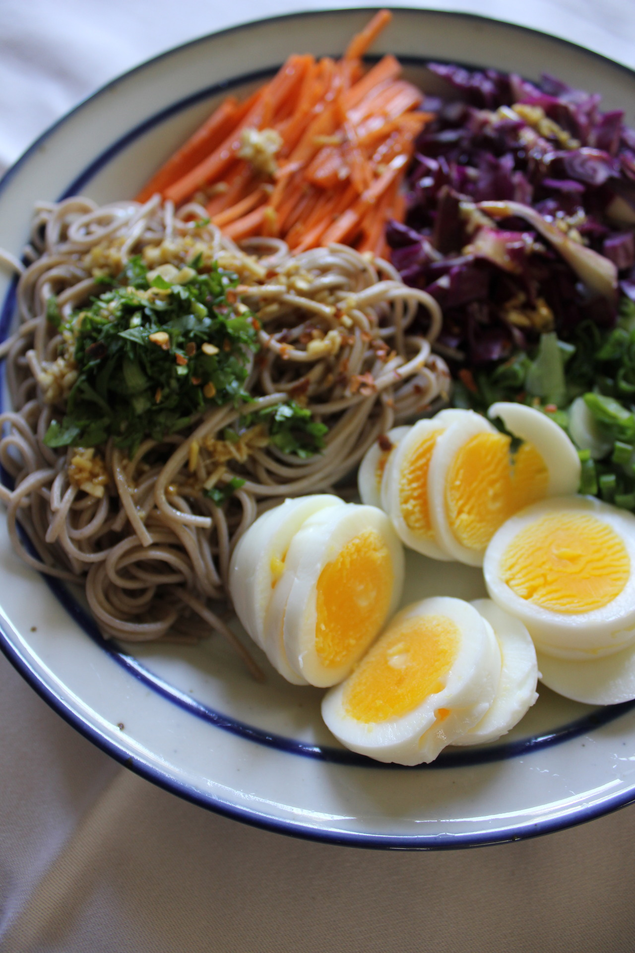 Chilled Soba Veggie Plate(Submitted By Whichwaytovogue)