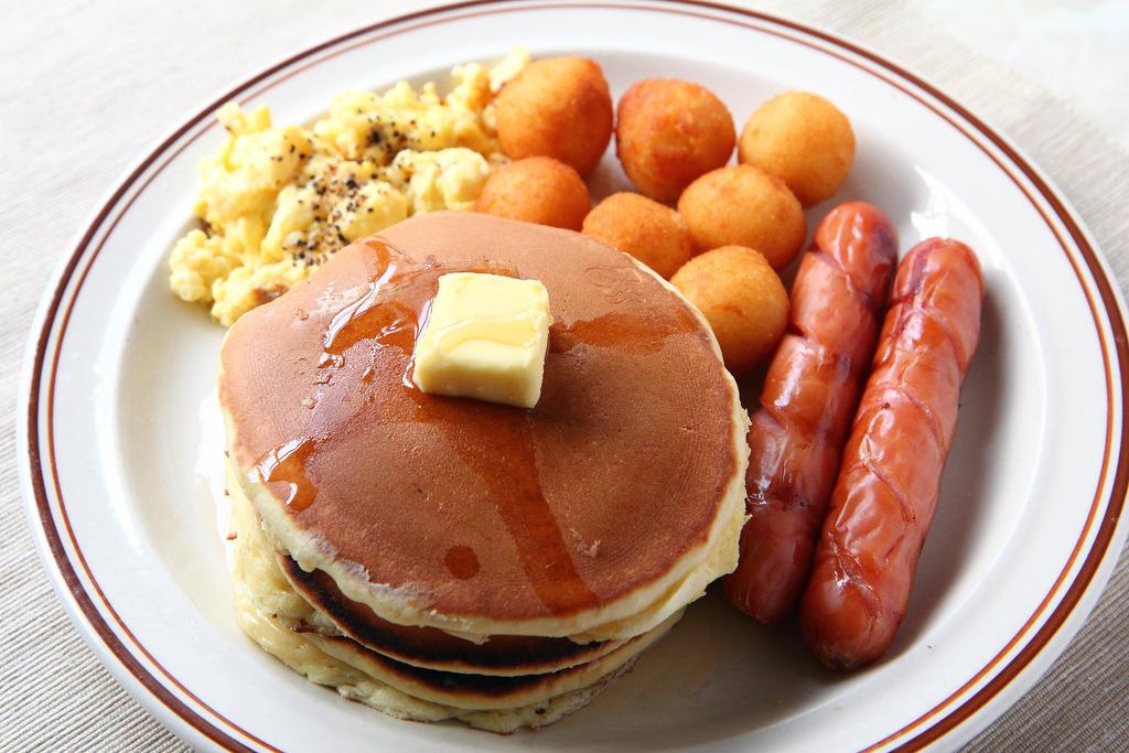 Pancake Breakfast Set