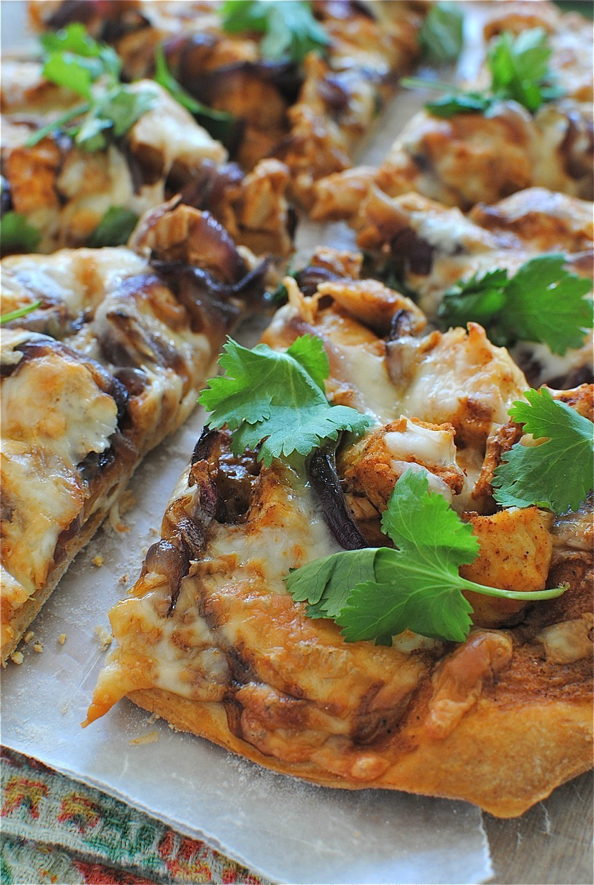 Recipe: Creamy BBQ Chicken Pizza