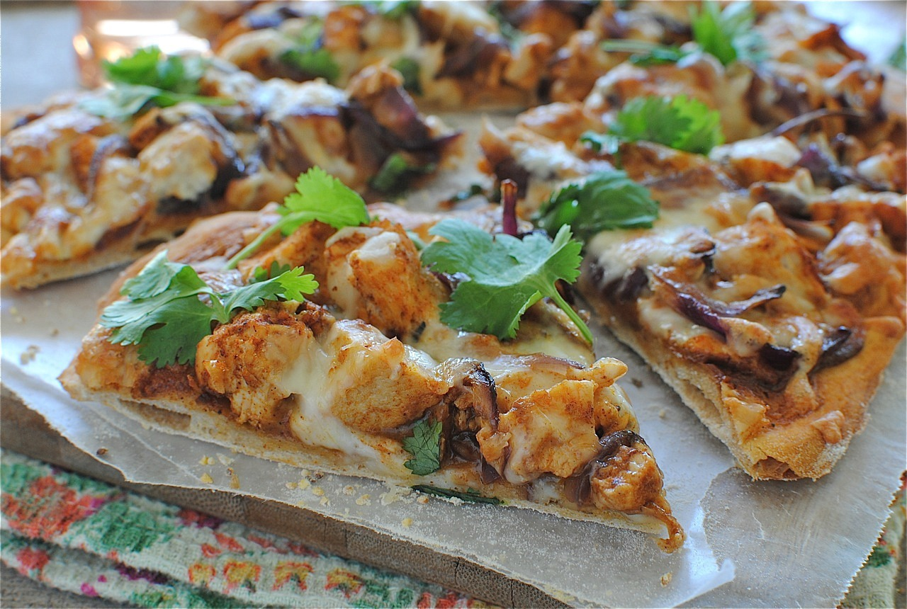 Creamy BBQ Chicken Pizza