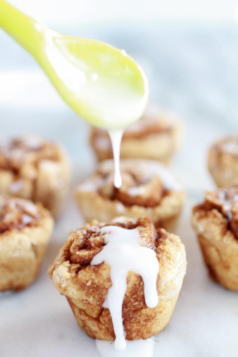 Recipe: Whole Wheat 30 Minute Mini Cinnamon Buns