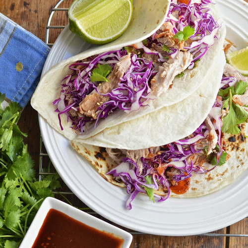 Korean Tacos with Pulled Pork