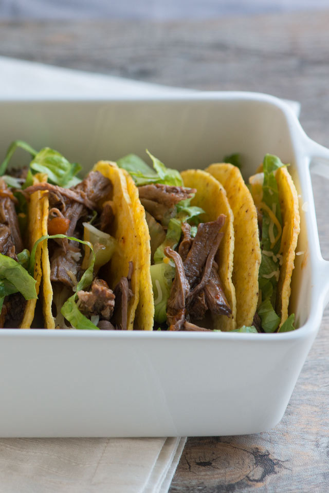 Recipe: Fire Roasted Tomato & Beef Tacos