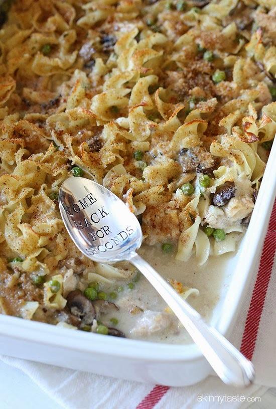 Recipe: Skinny Tuna Noodle Casserole