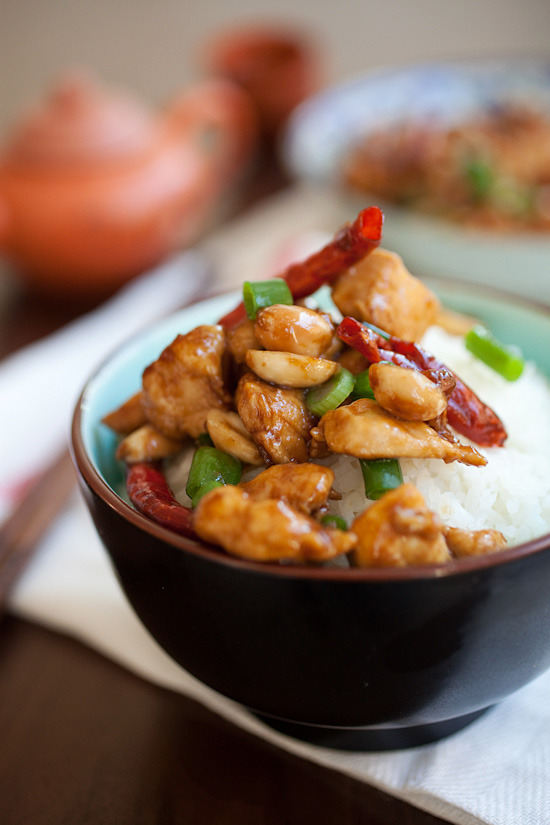 Kung Pao Chickenwith recipe (link)