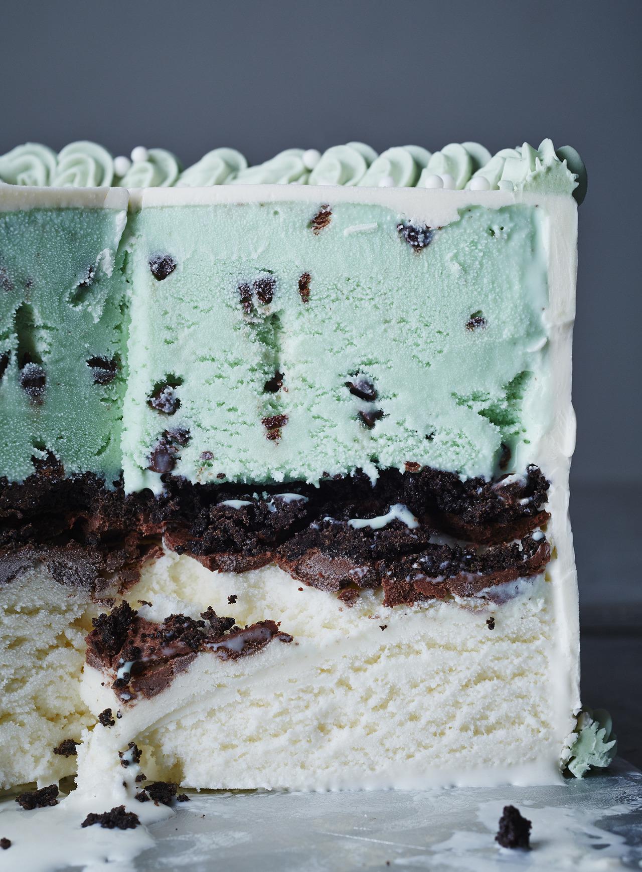 Classic Ice Cream Cake ~ Herriott Grace