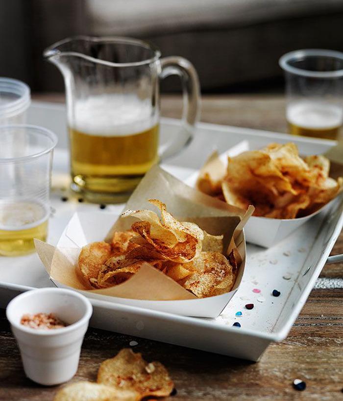 smoked salt & vinegar chips gourmet traveller