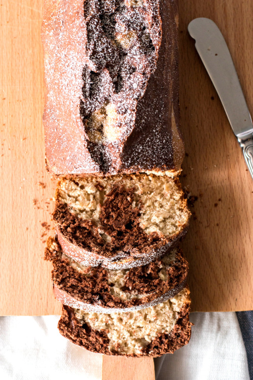 One Bowl Banana Marble Bread Savory Nothings