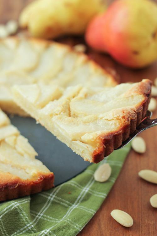 Almond Pear Tart