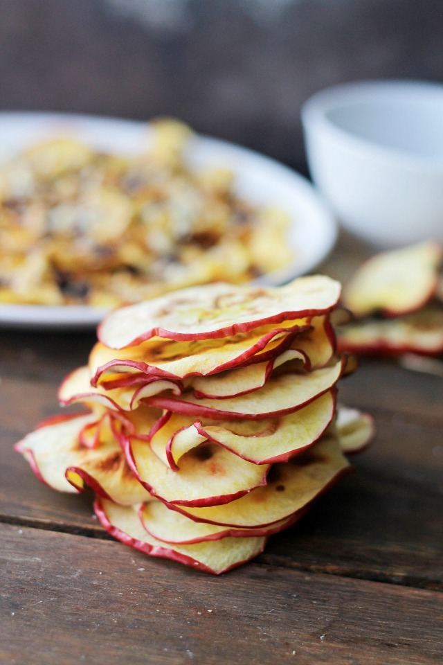 Apple Chips in the Microwave