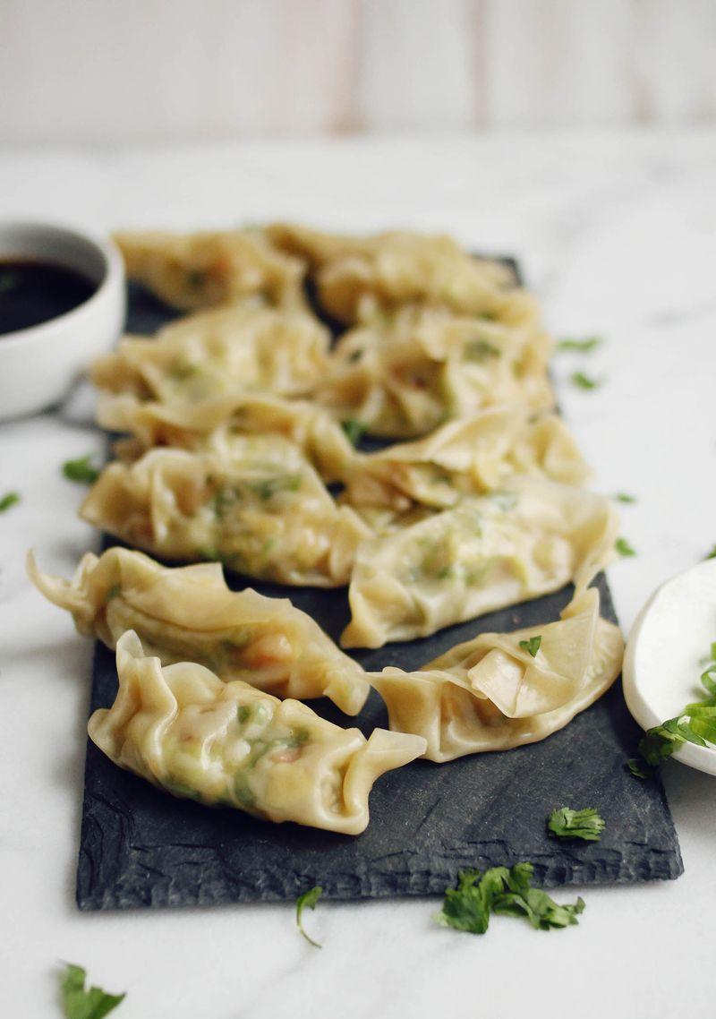 Shrimp & Brussel Sprouts Dumplings