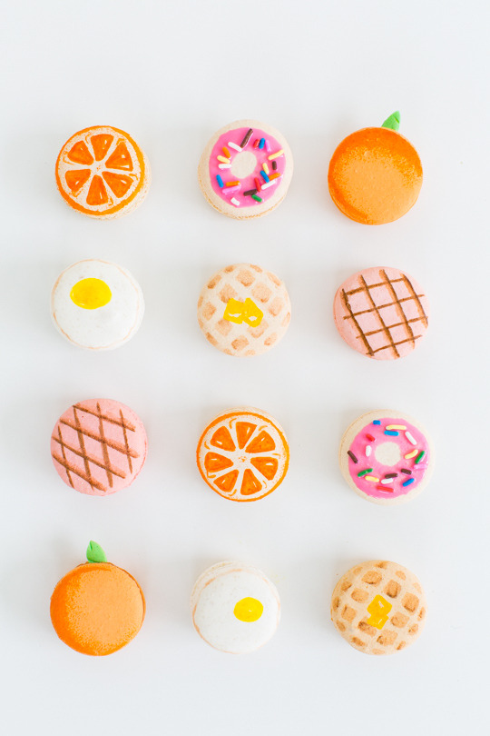 DIY Brunch MacaronsSource