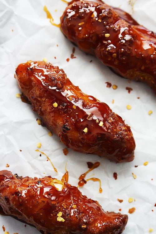 Baked Firecracker Chicken TendersSource
