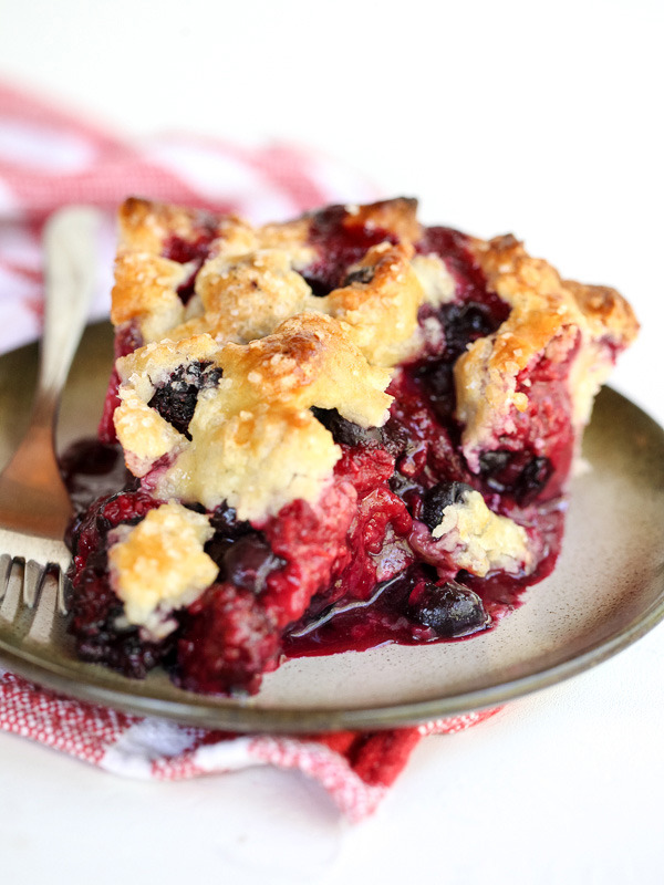 The Berry Best Four Berry Pie Recipe
