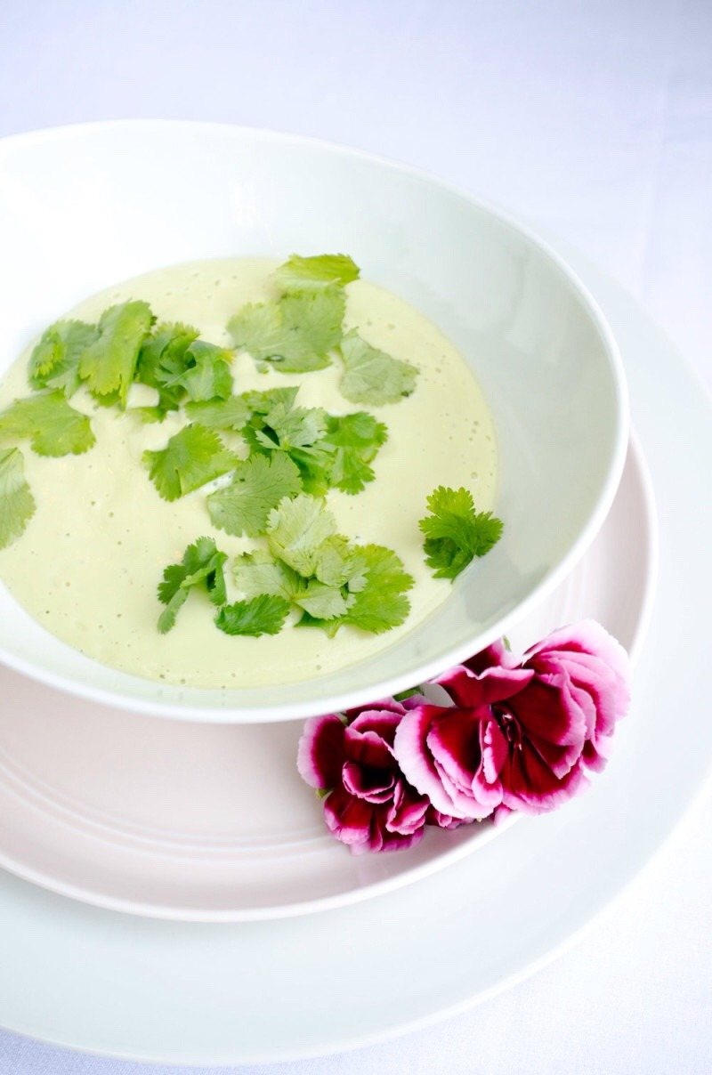 Chilled Avocado Soup Recipe & Giveaway