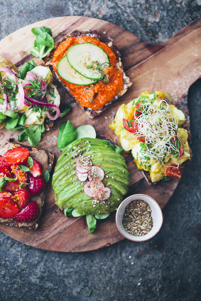 Open Faced Sandwiches Green Kitchen Stories