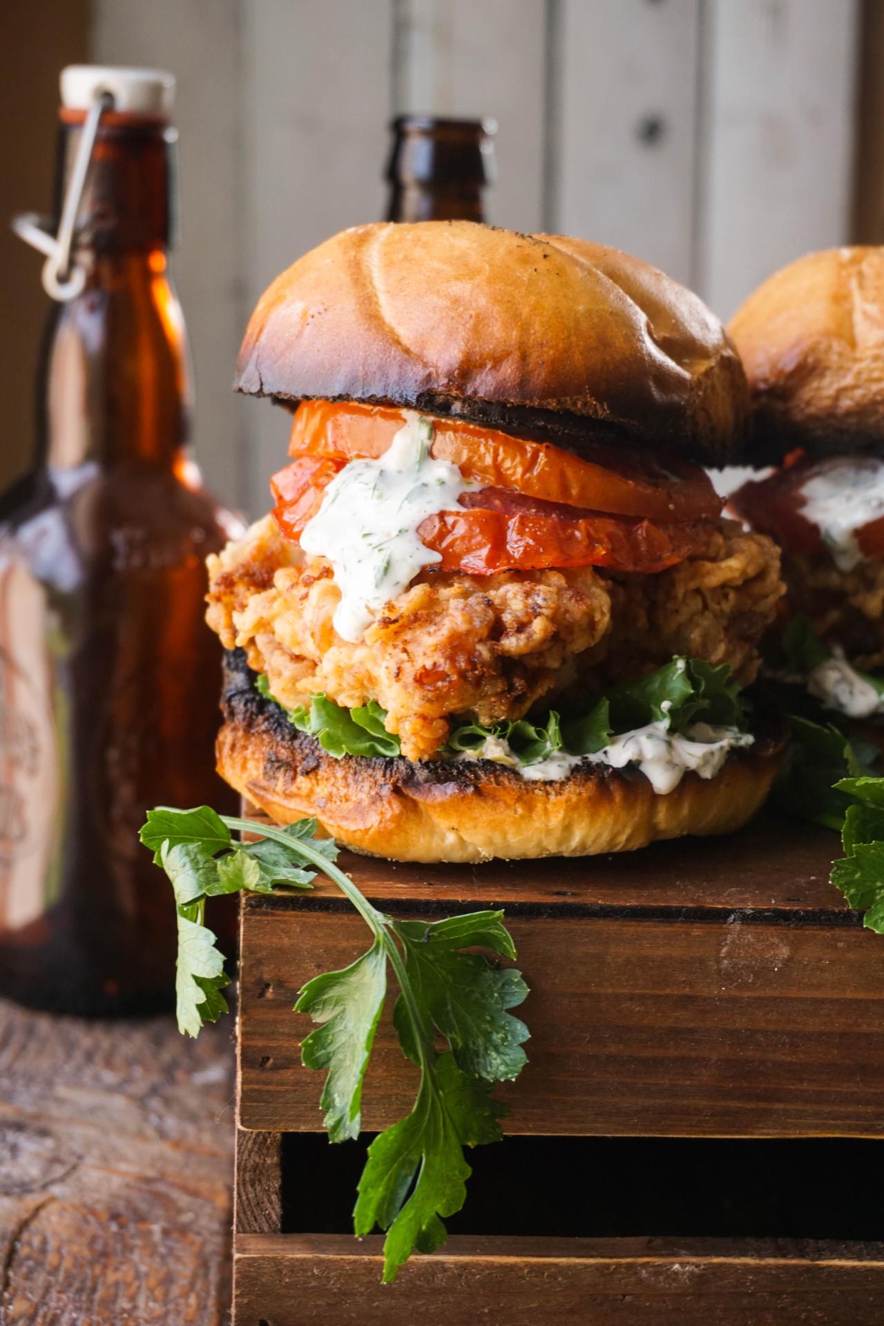 The Charleston Chicken Sandwich